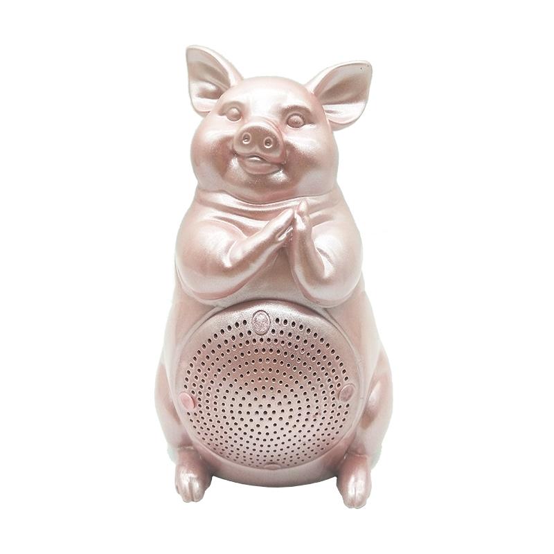 17cm 高白日思想家艺术蓝牙音  箱5W                                     粉色