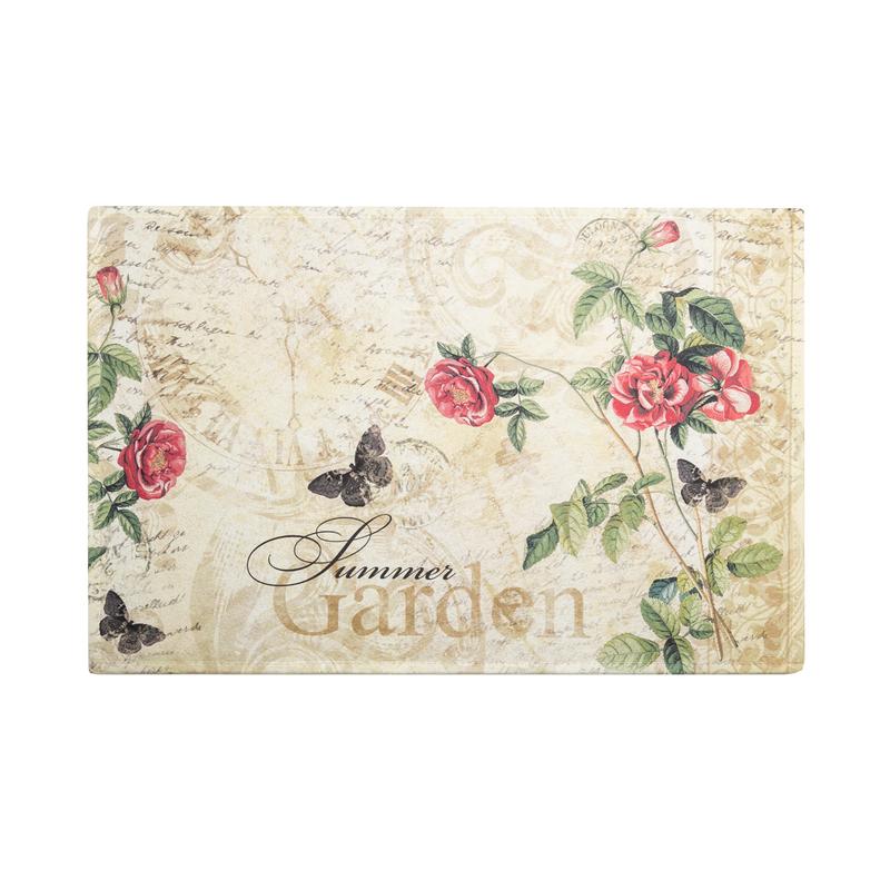 德国原产AKZENTE Gallery系列地毯脚垫门厅垫 夏日玫瑰