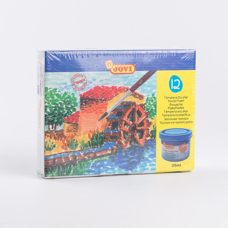 西班牙原产JOVI罐装水粉颜料绘画颜料