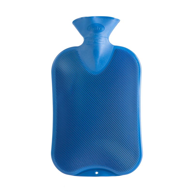 德国原产fashy注水防爆热水袋暖手宝暖水袋简洁菱纹