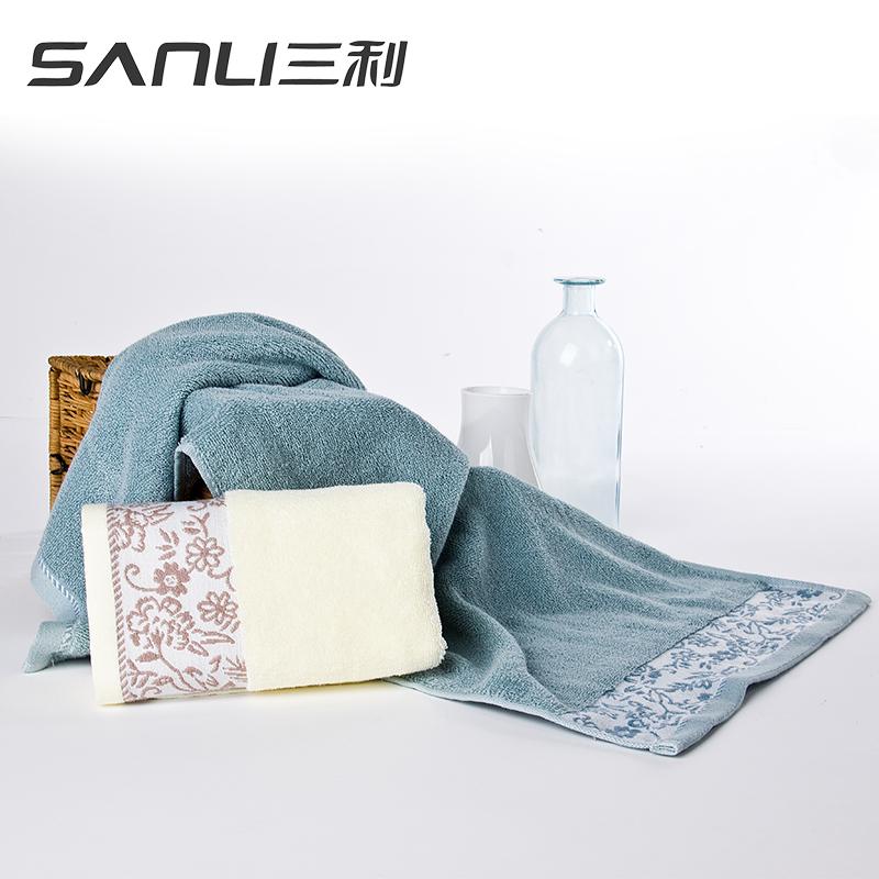 三利时光日记面巾2条礼盒装毛巾