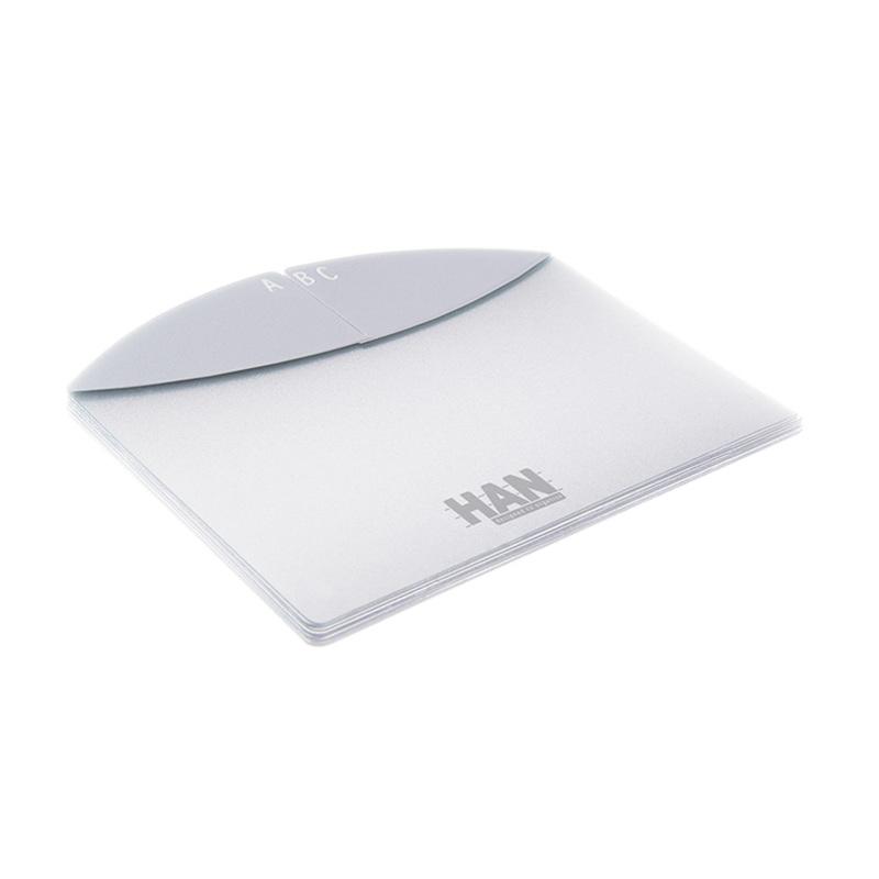 德国原产HAN有机环保字母卡片式归纳隔
