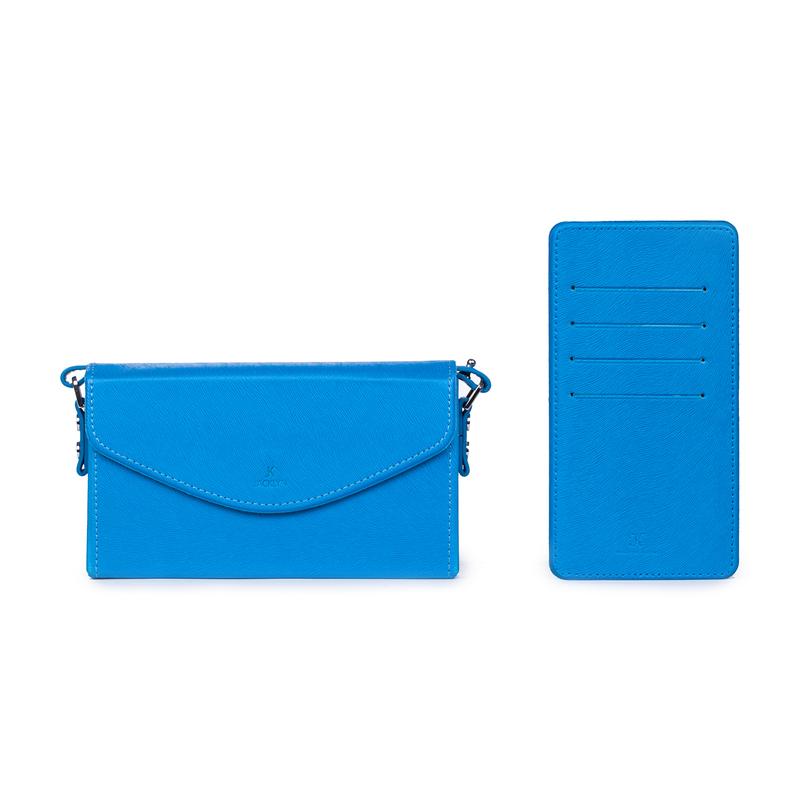 韩国原产JACKLYN 手机包信用卡包男女零钱包多功能单肩包