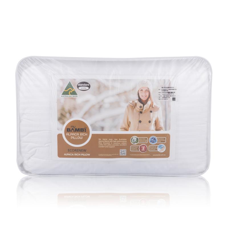 澳大利亚原产Ecorenew澳洲羊驼枕羊驼毛枕头枕