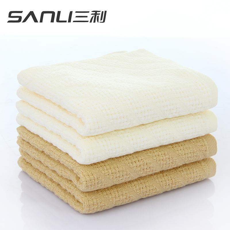 三利鲁道夫抗菌面巾2条礼盒装毛巾