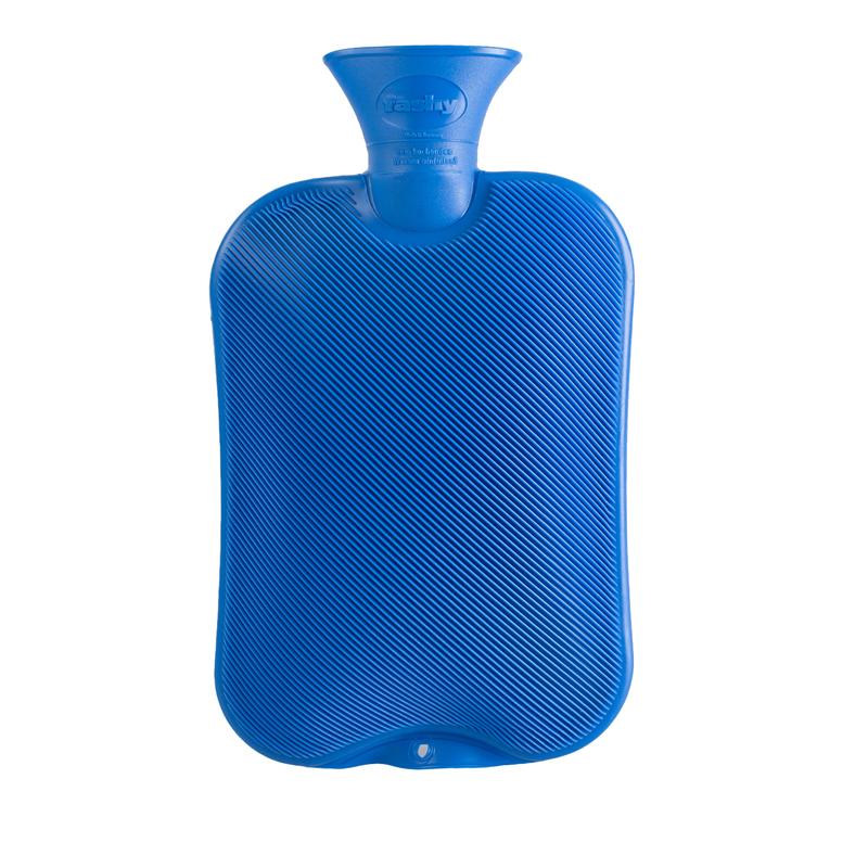 德国原产fashy注水防爆热水袋暖手宝暖水袋斜条纹