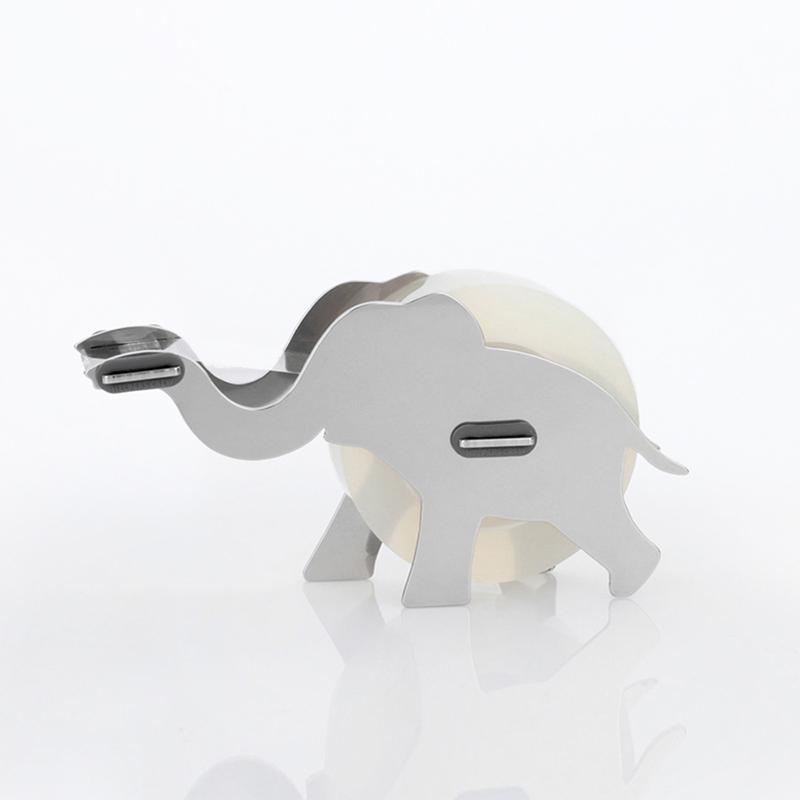 韩国原产Joosepino不锈钢胶带座大象造型DIY创意