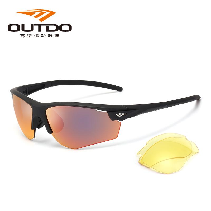 高特运动眼镜GT61005 C028骑行系列/偏光、磁吸换片