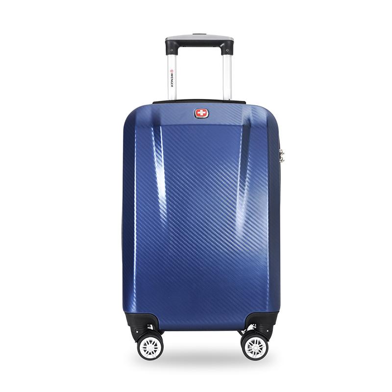 WENGER26寸8轮尊贵蓝拉杆箱SAX720018105066