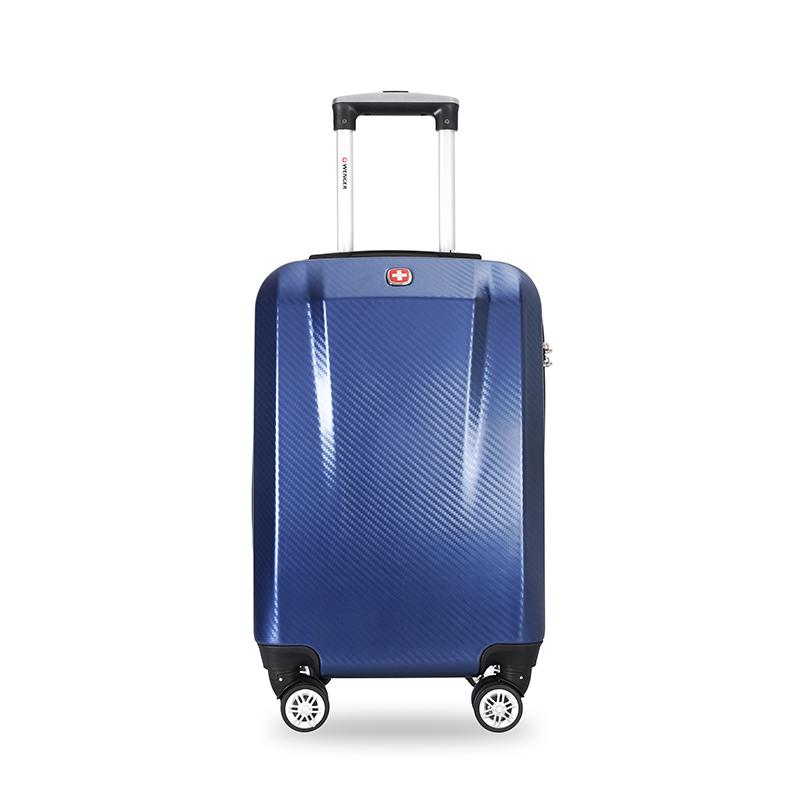 WENGER22寸8轮尊贵蓝拉杆箱SAX720018105056
