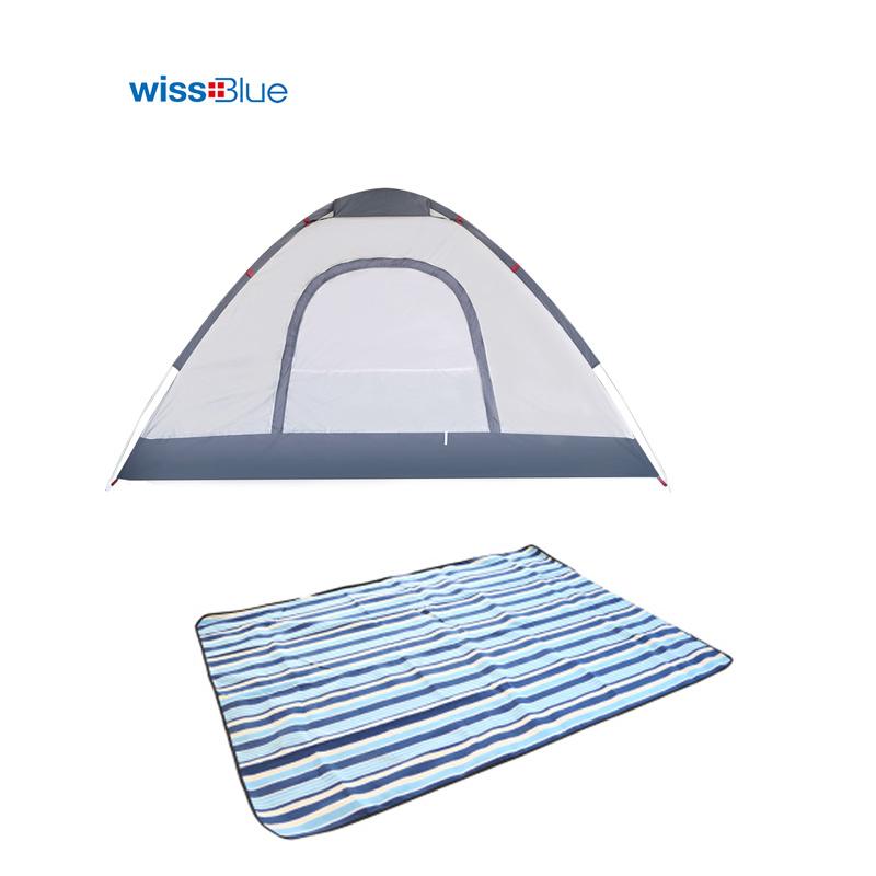 维仕蓝帐篷户外组合礼包