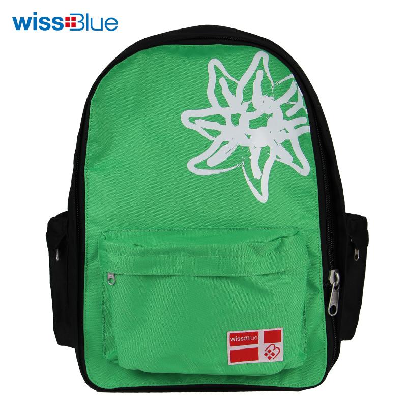 维仕蓝休闲背包WB1067-G绿色【QC】