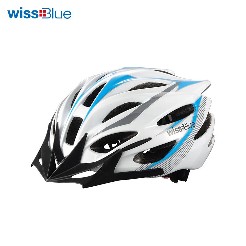 维仕蓝蓝白色头盔【QC】