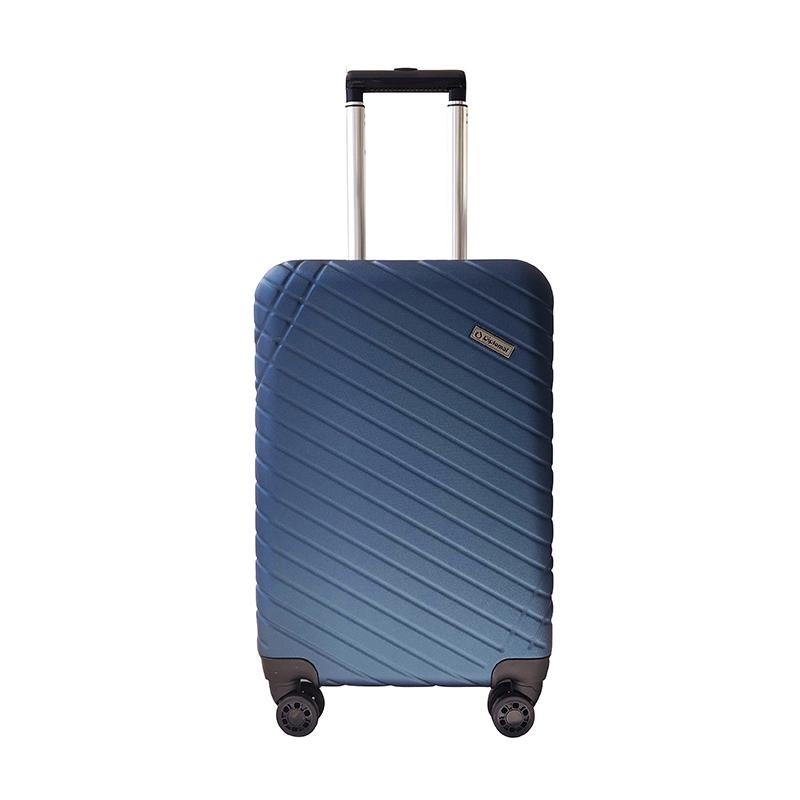 外交官Diplomat 商务休闲拉杆箱YH-6382 蓝色-105  20寸