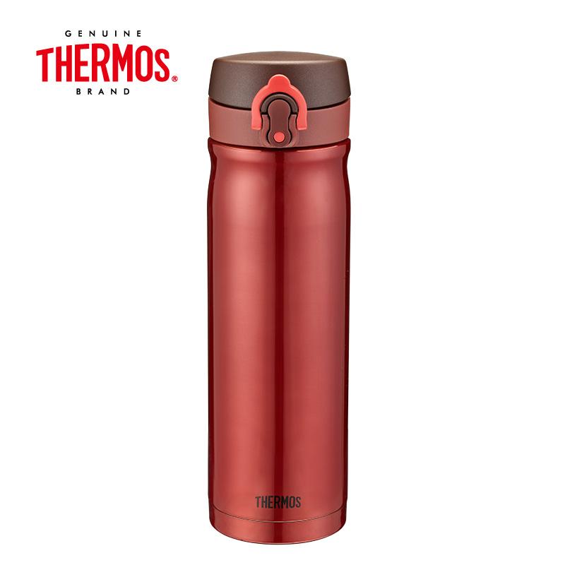 THERMOS膳魔师 高真空弹跳保温杯 (CSS) 酒红色 500mlJMY-500 红色