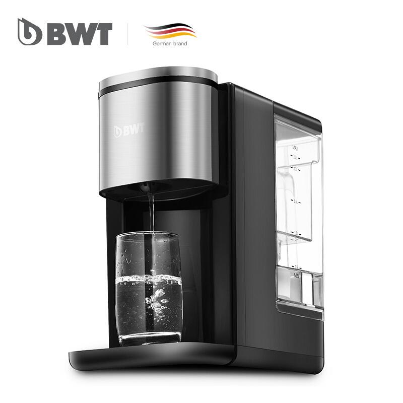 德国倍世(BWT)净饮水全自动即热开水机 迷你免安装台式净化加热一体机KT2211 家用办公 泡茶冲奶  黑色