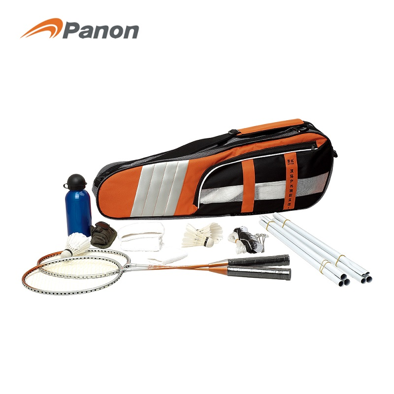 攀能羽毛球套装PN-5123,77cmX46.5cmX33cm  橙色