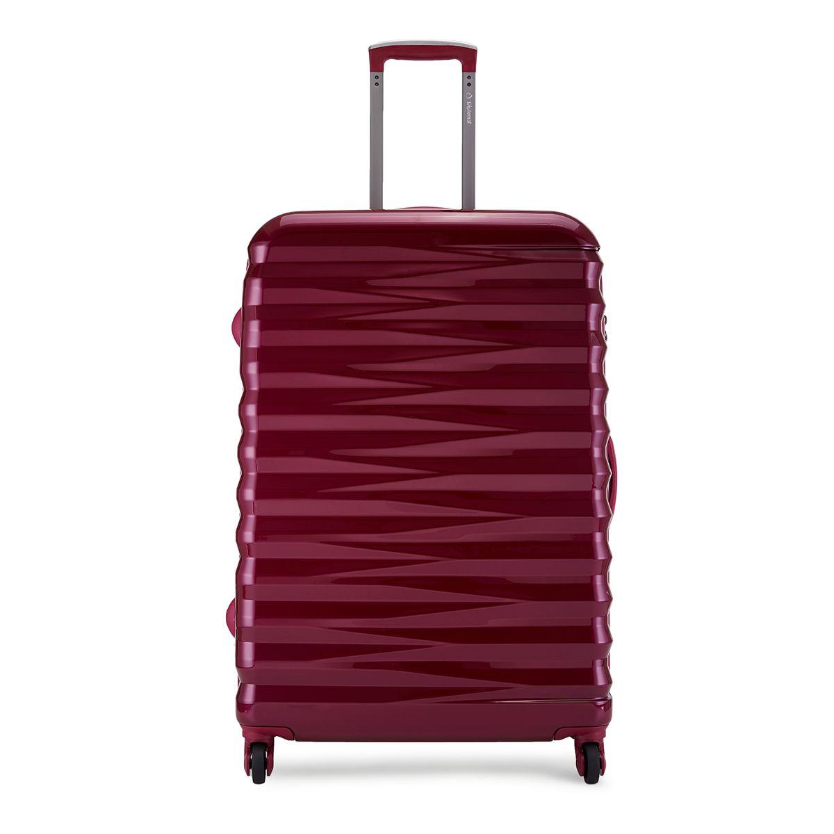 外交官拉杆箱TC-16272 19寸玫红色【QC】