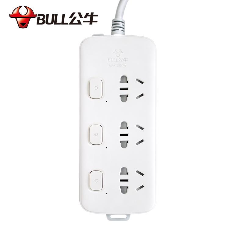 公牛BULL新国标插座 插线板 S1033