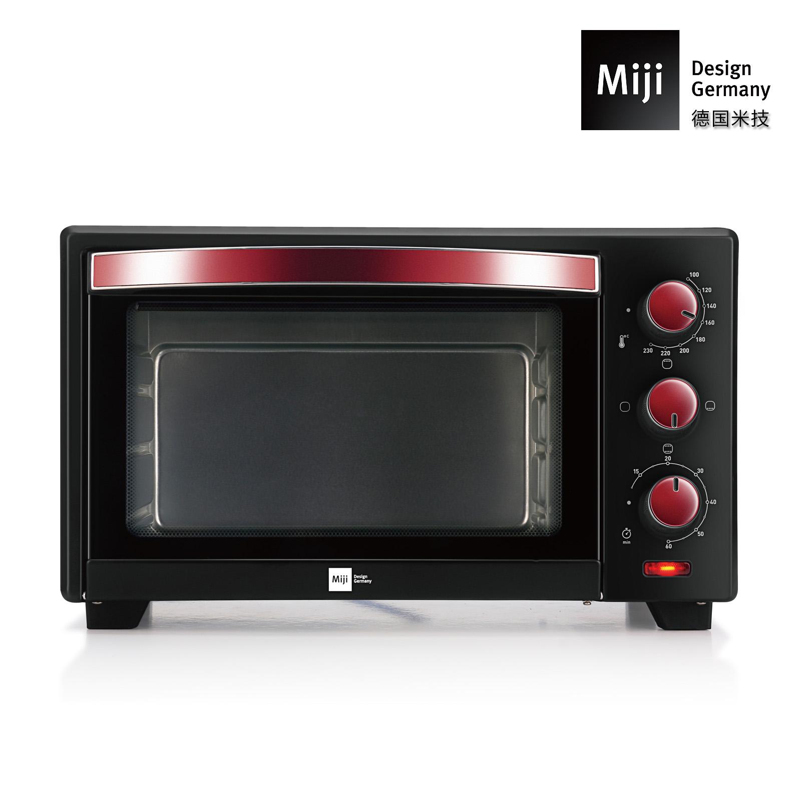 Miji 德国米技EO19L大容量电烤箱 20L