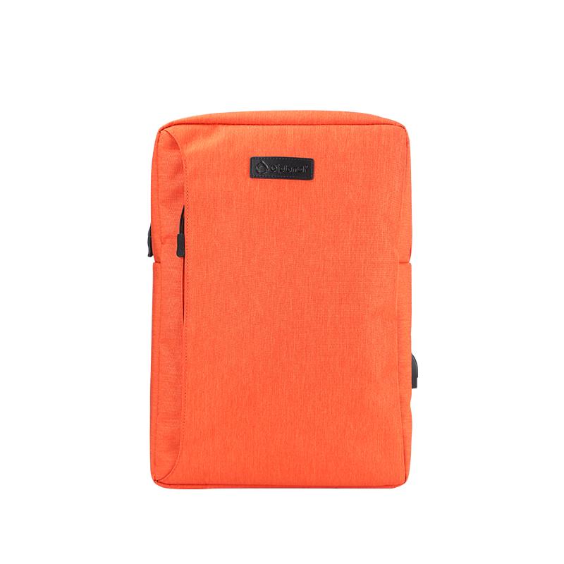 外交官Diplomat 时尚休闲双肩包 背包 橘色  橙色