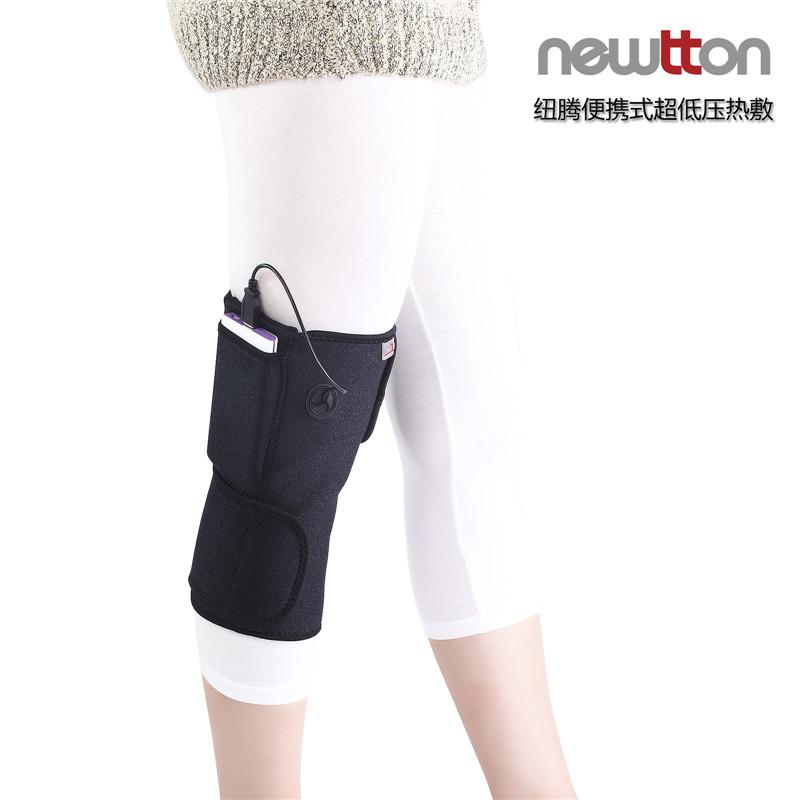 NEWTTON 澳洲纽腾便携式超低压热敷 NT95-4(护膝)  黑色