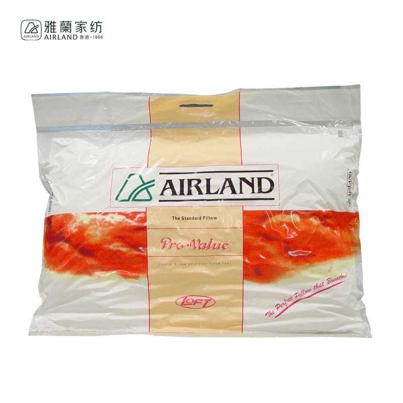 雅兰单孔枕一个 48*74/0.75KG  白色