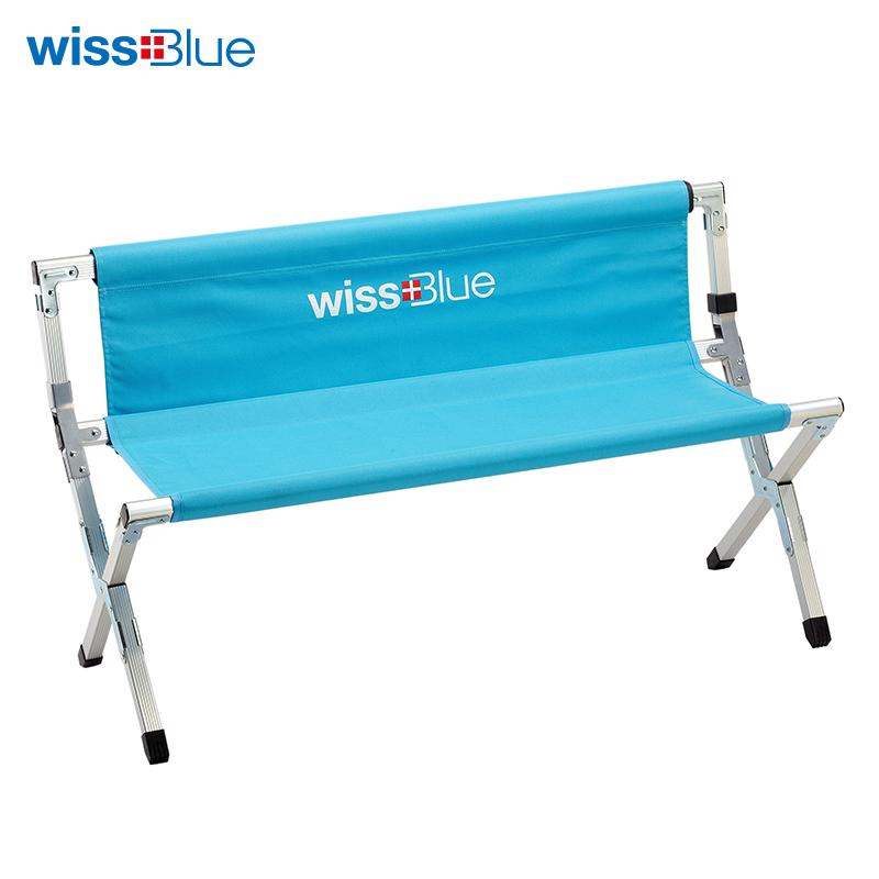 维仕蓝折叠排椅WD5023 极光色