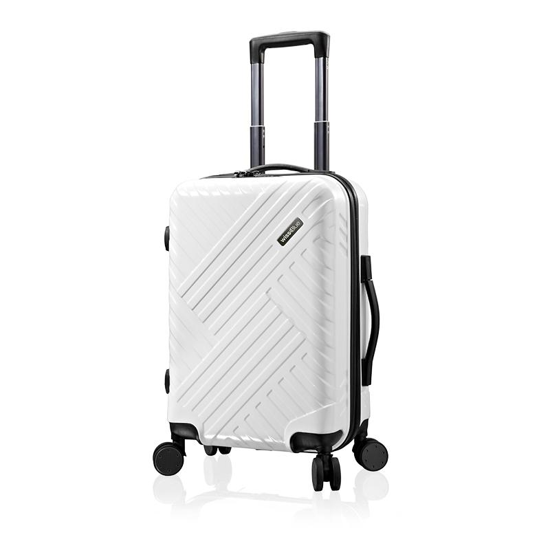 维仕蓝20寸时尚拉杆箱 白色E719501 银色 20寸