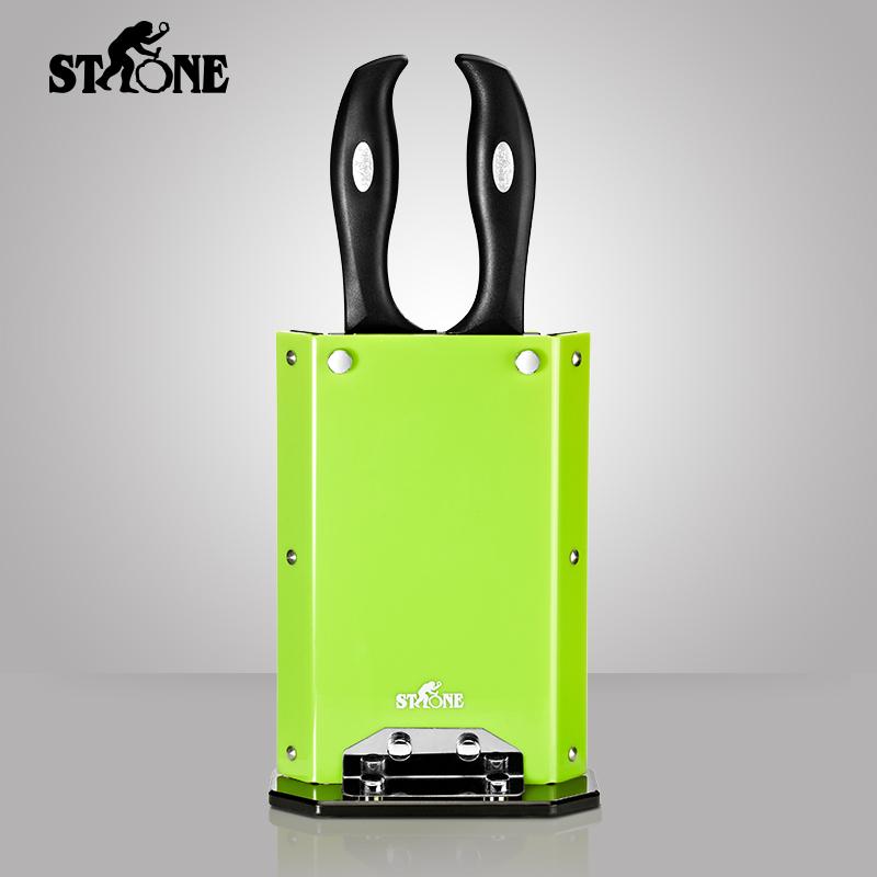 德国司顿 厨房刀具装三件套ST7751 绿色