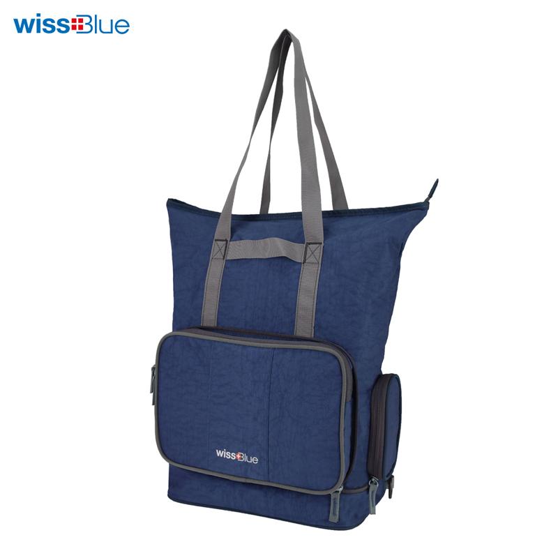 维仕蓝折叠两用单肩/挎包TG-WB1041 蓝色