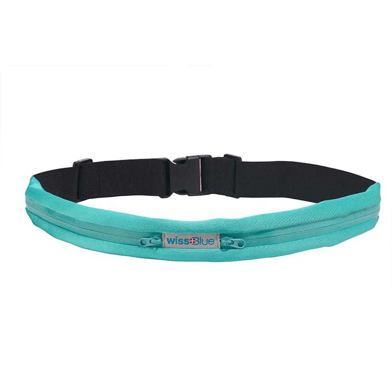 维仕蓝 多功能贴身户外运动双袋腰带包 TG-WB1065-D  绿色