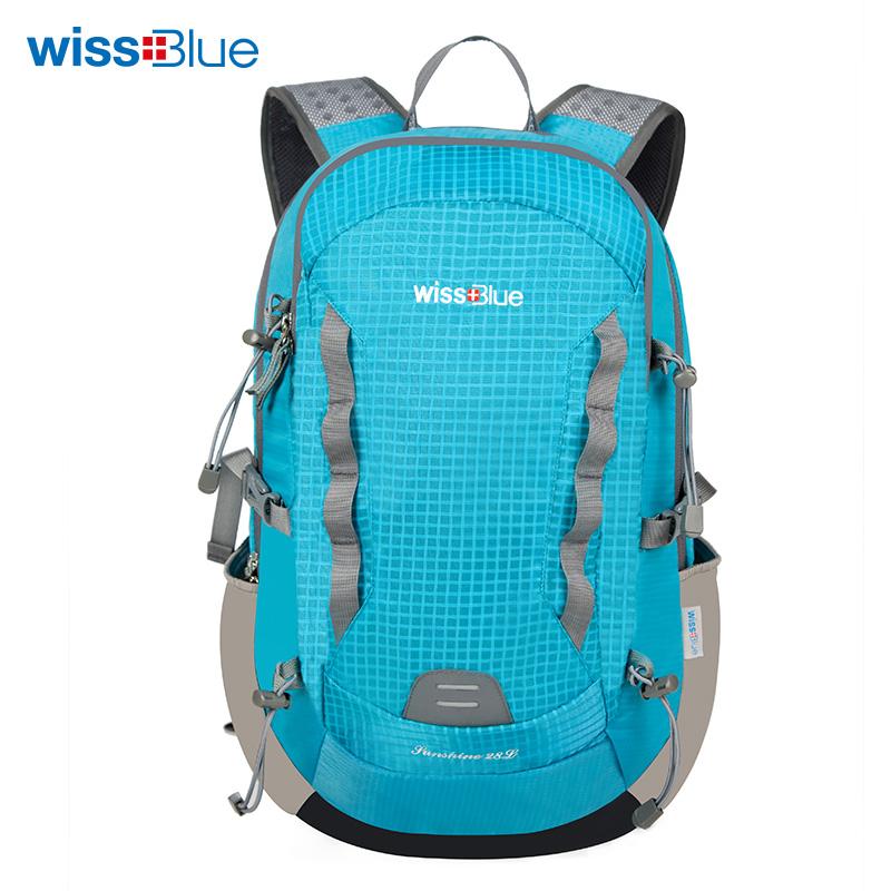 维仕蓝绿色户外背包(28L)WB1104-G 绿色