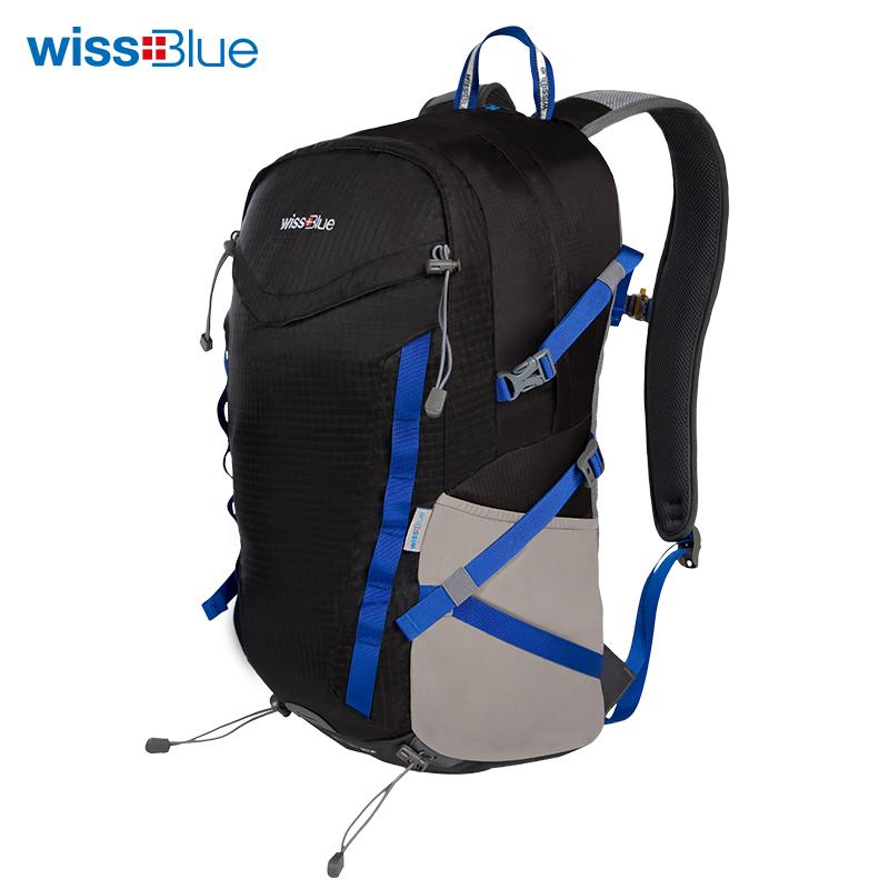维仕蓝色户外背包(35L)WB1105-B 蓝色
