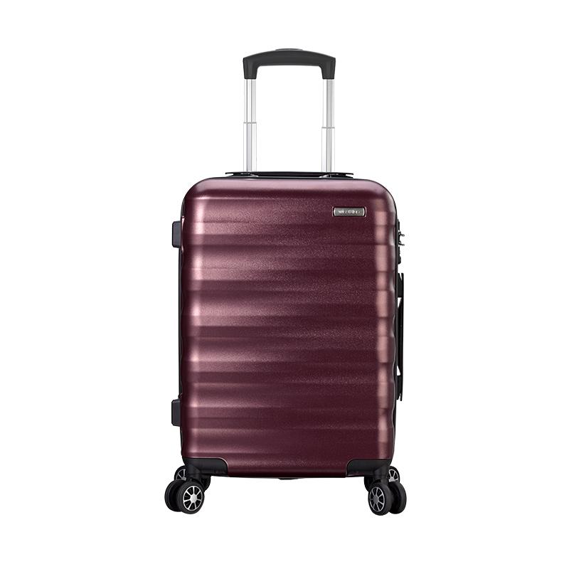 维仕蓝 商旅轻量拉杆箱E723 24寸(酒红色) 红色 24寸