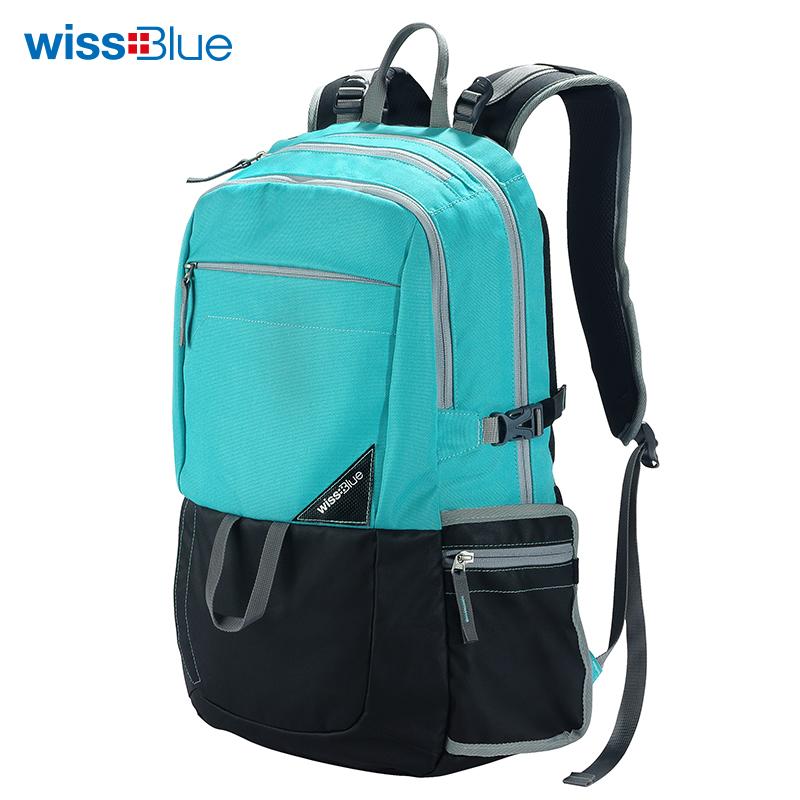 维仕蓝休闲电脑包WB1051-CR 天蓝色