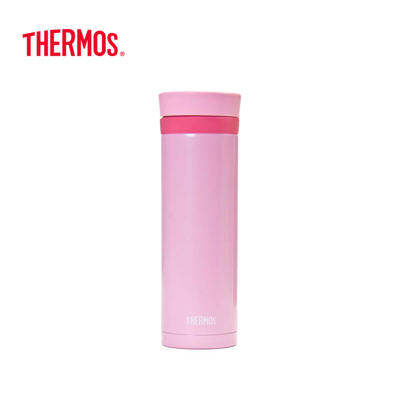 THERMOS膳魔师 不锈钢时尚保温杯 300mL JNC-300PK 粉红色