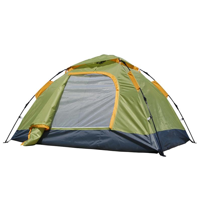 攀能2240双人帐篷  绿色