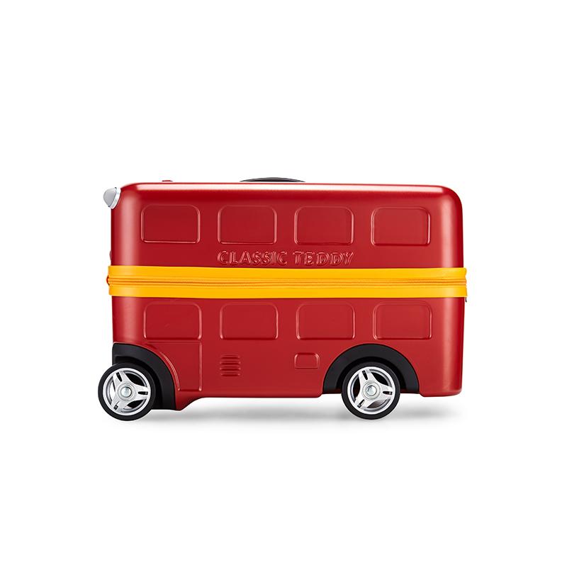 Diplomat外交官  红色精典泰迪巴士拉杆箱TT-1718 红色