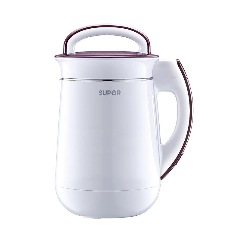 SUPOR/苏泊尔 免过滤豆浆机家用全自动豆浆正品DJ13B-P80 白色
