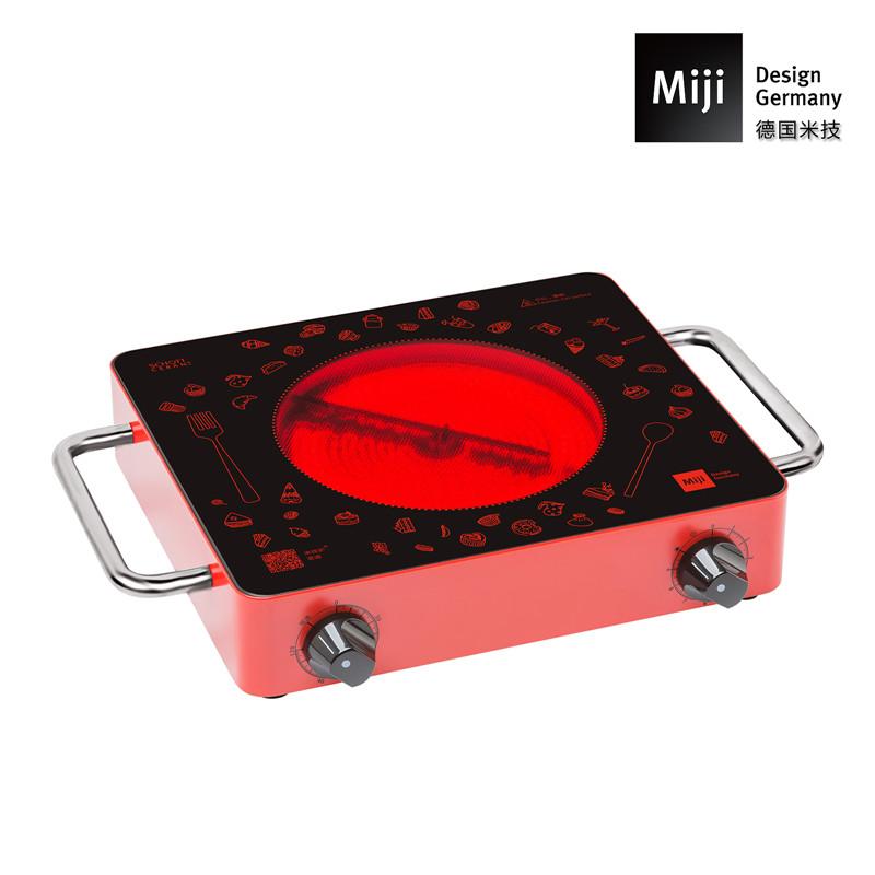 德国Miji 米技炉 Miji Gala IED 1700 FI (定时版 红色)  红色