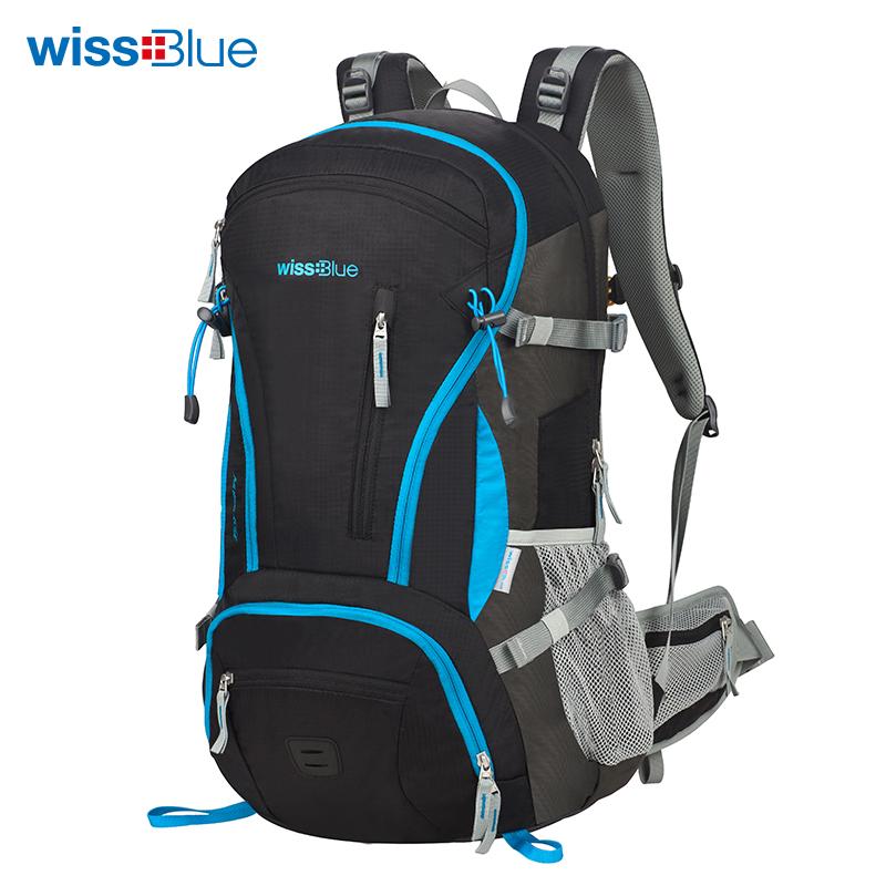 维仕蓝wissblue户外运动背包登山包颜色随机发货  随机