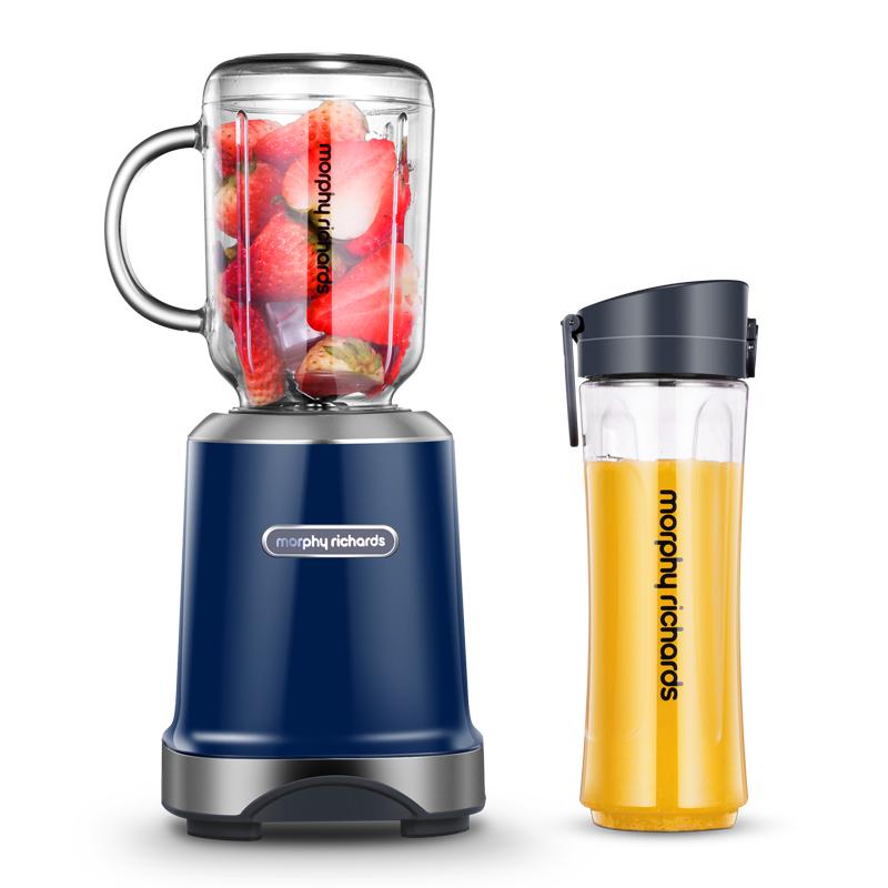 摩飞(Morphyrichards)榨汁机原汁机 便携式果汁机料理搅拌机梅森杯MR9500 液态天河