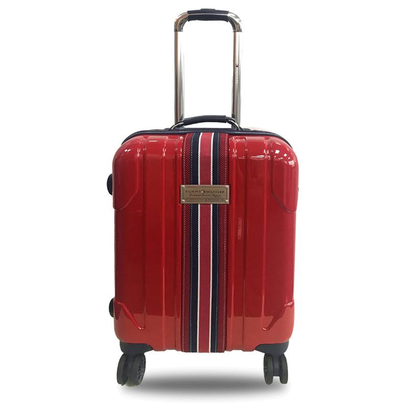 Tommy- Hilfiger时尚拉杆箱(20寸)THG-004 红色