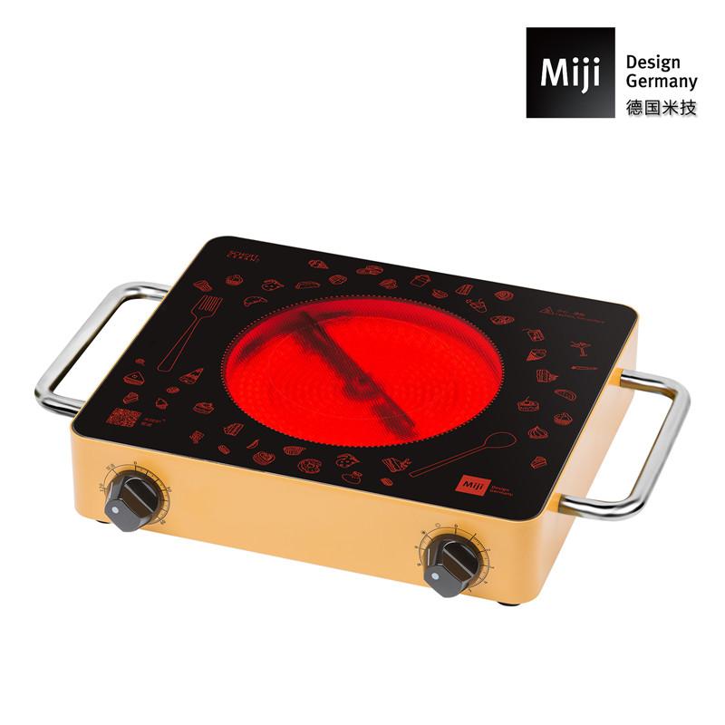 德国Miji 德国米技炉 Miji Gala定时版 金色)GALA IED 1700 FI(金色) 金色