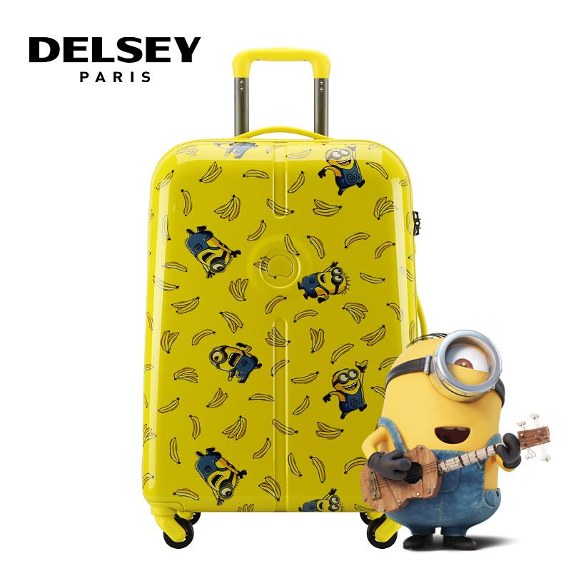 小黄人黄色拉杆箱00262580225(20寸) 黄色