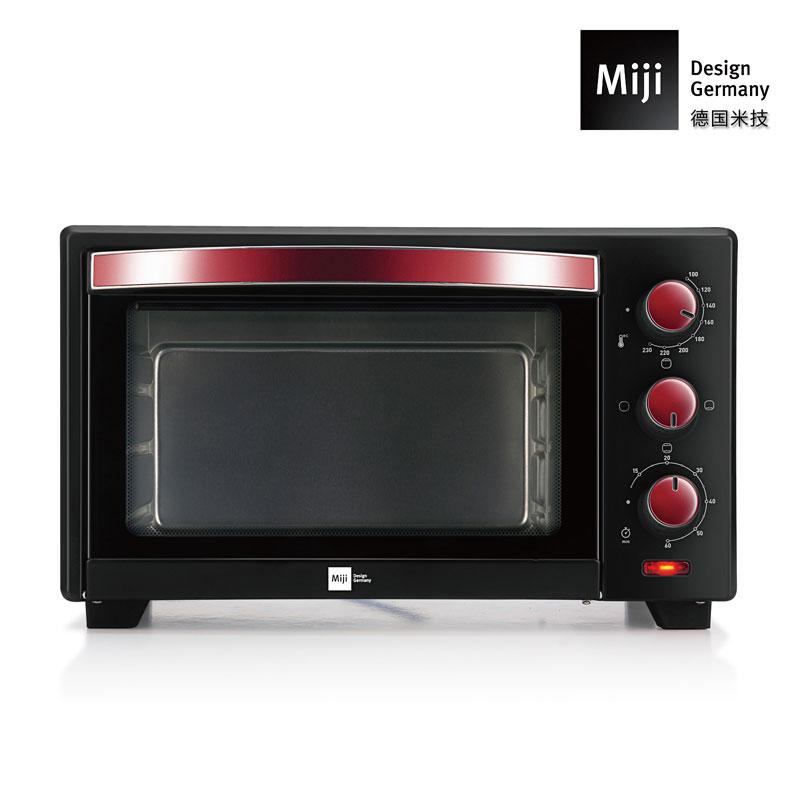 德国Miji米技大容量电烤箱 20LEO19L 黑色