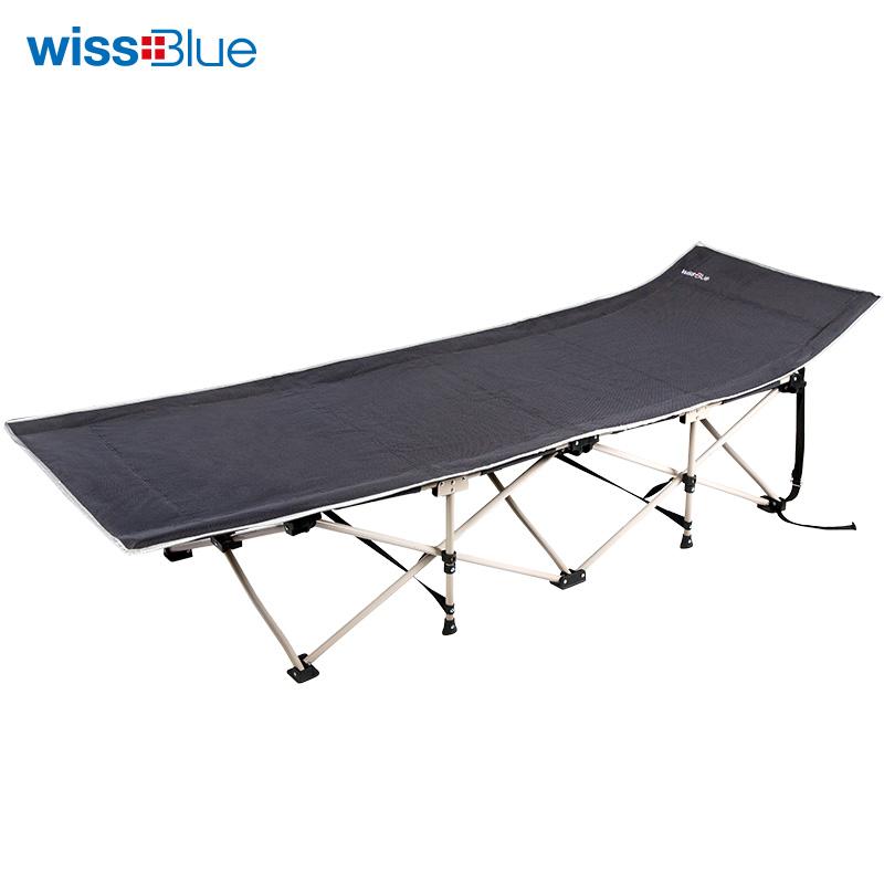 维仕蓝便携式折叠/午休床WD5029 黑色