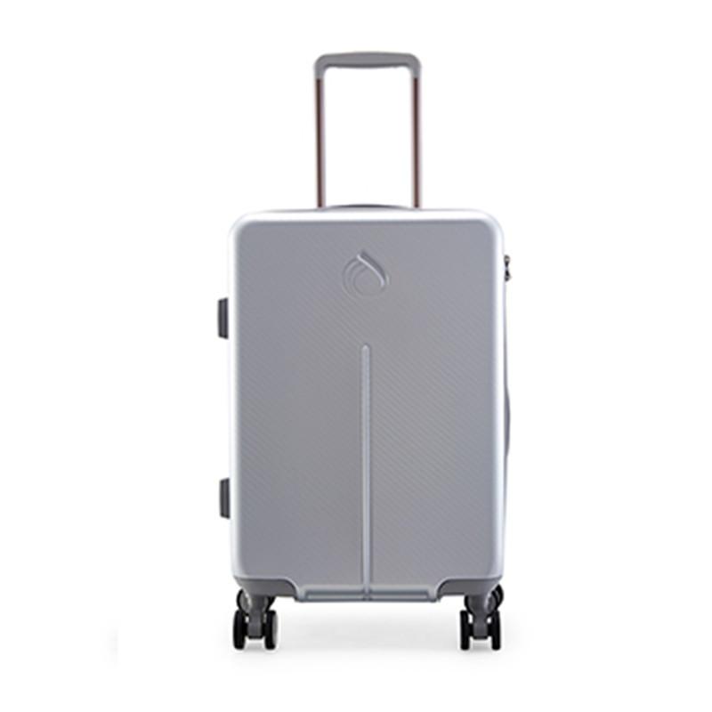 Diplomat外交官 商务时尚拉杆箱20英寸YH-6732  银色  银色