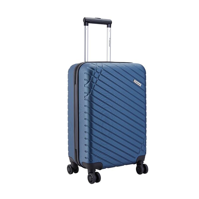 外交官Diplomat 商务休闲拉杆箱YH-6382 蓝色-105 20寸  混色